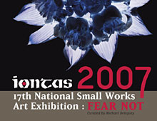 Sligo Art Gallery – IONTAS Exhibition poster