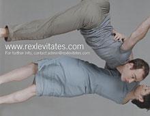 Rex Levitates – Website Launch Flyer