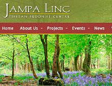 Jampa Ling website