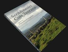 Cover design for 'Scríbhneoirí Cois Teorann'