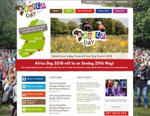 Africa Day Ireland website