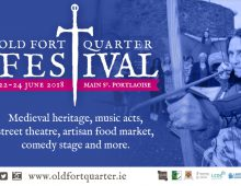 Old Fort Quarter Festival poster