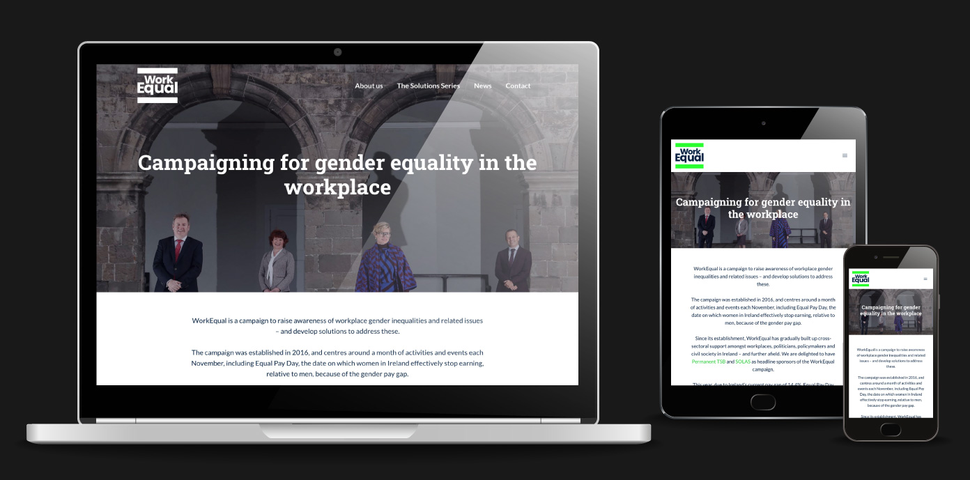 WorkEqual website 1