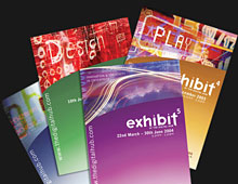 Exhibit catalogues for The Digital Hub